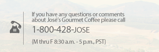 Joses Coffee Contact Phone